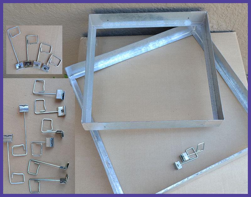Filter holding frames